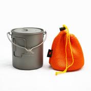 TOAKS Titanium 750ml Bail Handle Pot (POT-750-BH)