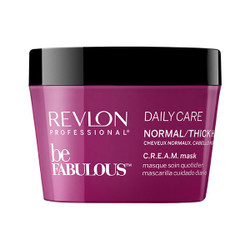 Revlon Be Fabulous Daily Care Normal/Thick Hair C.R.E.A.M. Mask 200ml