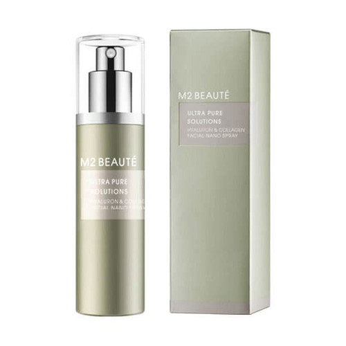 M2 BEAUTÉ Ultra Pure Solutions Hyaluron & Collagen Facial Nano Spray 75ml