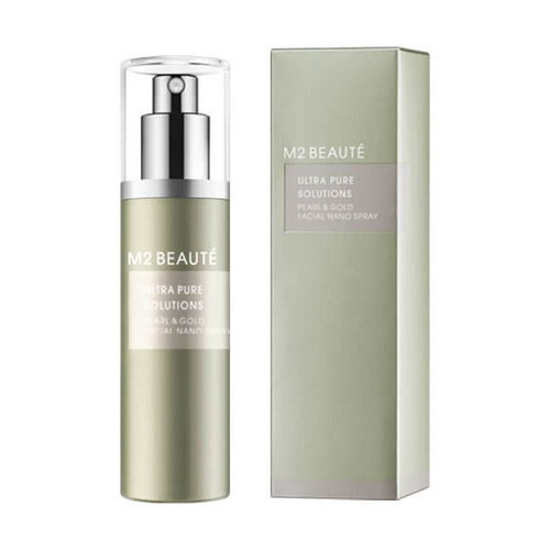 M2 BEAUTÉ Ultra Pure Solutions Pearl & Gold Facial Nano Spray 75ml