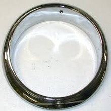 Rim, Head Lamp, Round Inner - N.O.S. or rechromed