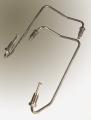 Caliper Transfer Tube - Pair Stainless steel