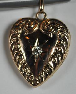 Victorian Heart Locket