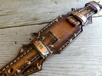 Personalizable Custom Leather Watch Band - M16