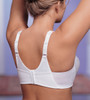 Glamorise Magic-Lift Active-Support Wirefree Cotton-Blend Bra - Back View