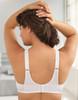 Glamorise Wonderwire Cushioned Camisole Strap Underwire Bra - Back View