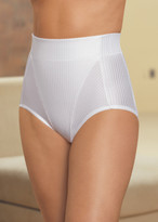 Glamorise Isometric High-Waist Shaping Brief Firm Control Panty White