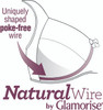 Glamorise Natural Wire - Uniquely shaped poke-free wire!