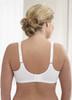 Glamorise Soft-Shoulders Extra-Wide Straps & Minimizer Bra - Back View