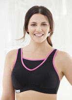 Glamorise Sport No-Bounce Camisole Cami Bra Black - Cup Size B