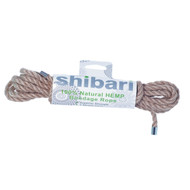 Shibari Hemp Bondage Rope 16ft.