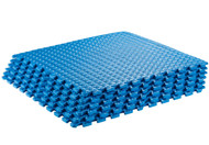 Sivan Health and Fitness Health and Fitness® Puzzle Exercise Mat High Quality EVA Foam Interlocking Tiles (Blue)