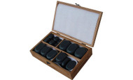 Sivan Health and Fitness Basalt Lava Hot Stone Massage Set with 36 Piece