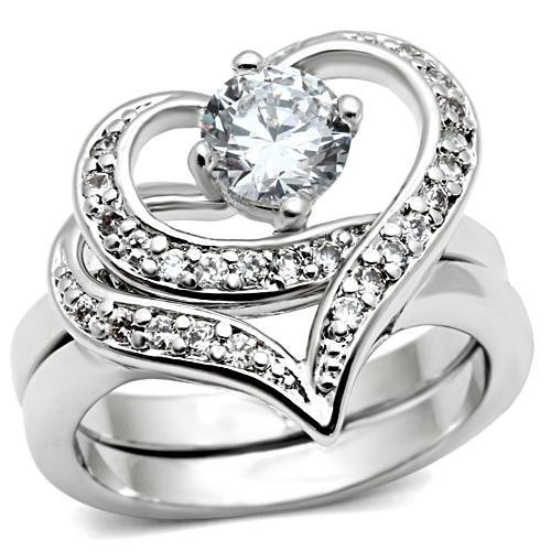 Classy Carmen Cz Hearts  2pc Engagement Ring Commitment. Designer Rings. Topaz Texas Wedding Rings. 1.70 Carat Engagement Rings. Oval Cut Engagement Rings. Tiffany Soleste Rings. Scratched Wedding Rings. Celebrity Anniversary Engagement Rings. Grey Diamond Rings