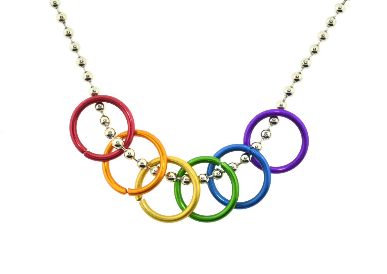 necklace pride Buy bi pride triangle flag steel ring - bisexual lgbt pride jewelry rings and other rings at amazoncom our wide selection is elegible for free shipping and free.