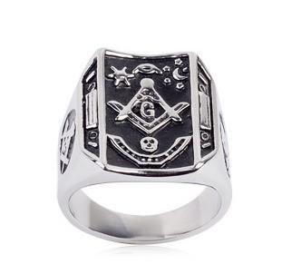 Masonic Wedding Band 6 Luxury Freemason Ring Masonic Ring
