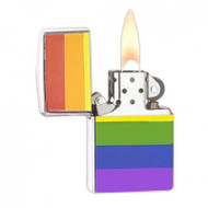 A Rainbow Gay Pride Lighter LGBT Gay and Lesbian - Popular in Gay Pride Products