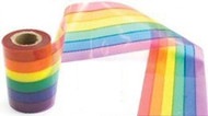 50 Foot Rainbow Gay Pride Flag Crime Scene Ribbon Party Banner - LGBT Gay and Lesbian Pride Party Supplies