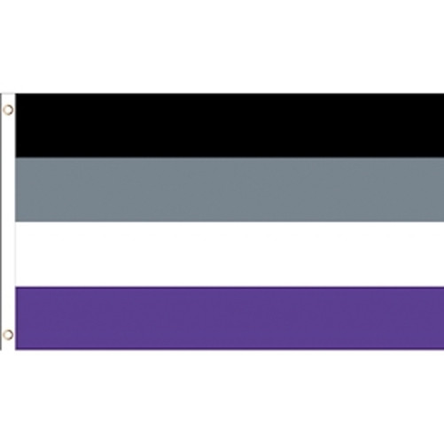 Image of Asexual Pride 3 x 5 Polyester Flag LGBT Parade Flags. 3 by 5 feet long