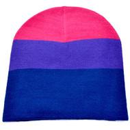 Bi Pride / Bisexual Pride Flag Beanie Hat - LGBT Pride Cap