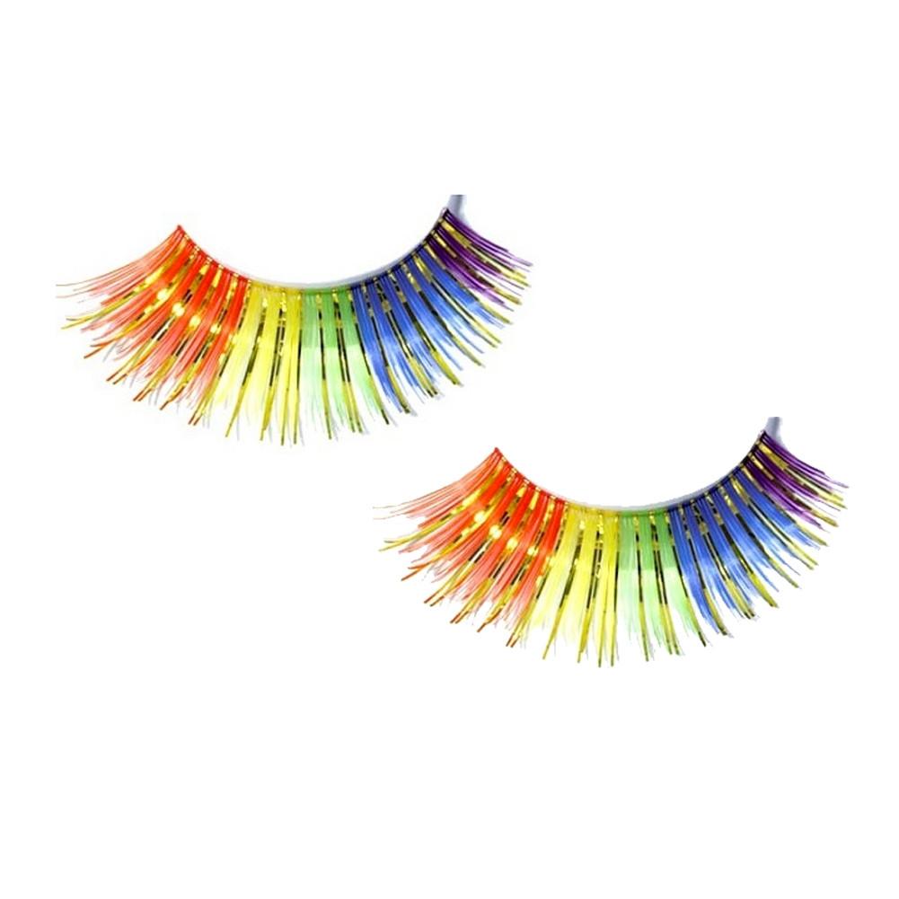 Image of Rainbow Pride LGBT Gay and Lesbian Gay Eyelashes