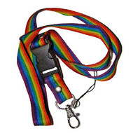 LGBT Rainbow Lanyard / Key Chain - Gay Pride - Lesbian Pride Gifts