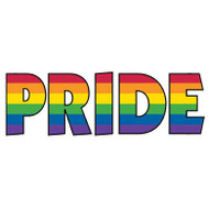 Rainbow Gay Pride Sticker - Gay & Lesbian Decal LGBT Products