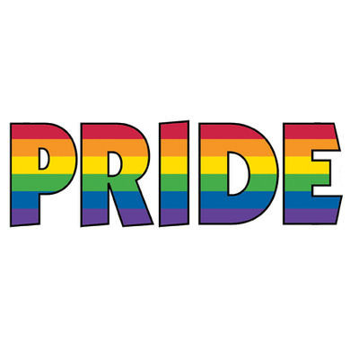 Rainbow Gay Pride Sticker Gay Amp Lesbian Decal Lgbt