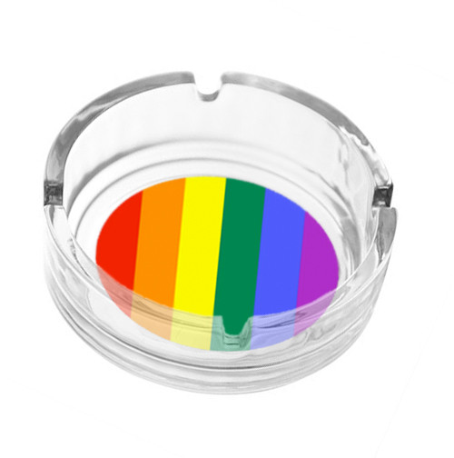 Image of Rainbow Pride Ash Tray LGBT Gay and Lesbian Products