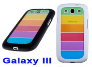 LGBT Gay Pride Flag - Rainbow cell phone case Samsung Galaxy 3 / Galaxy SIII
