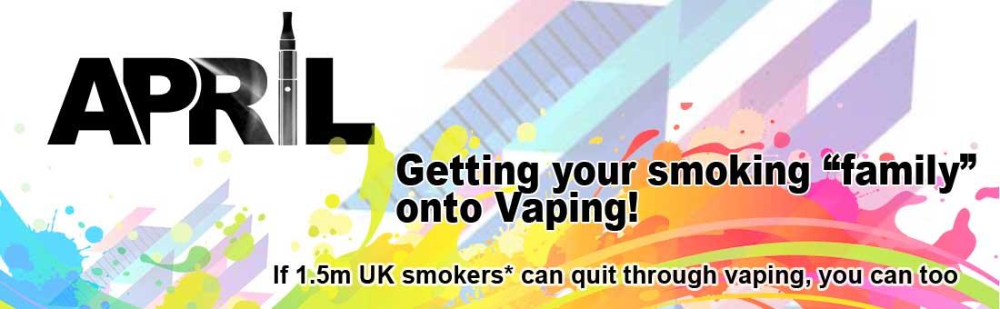 VApe best electronic cigarette during April