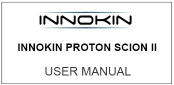 Innokin Proton Scion II User Manual