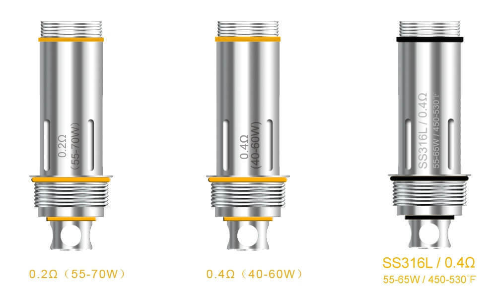 Aspire Cleito Coils sold seperately