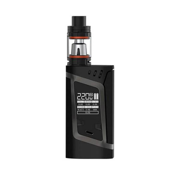 Smok Alien 220w UK TPD version: Grey on Black