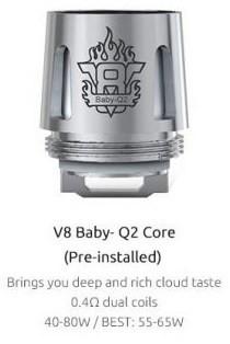 Smok TFV8 Q2 Coil for Smok Alien Beast