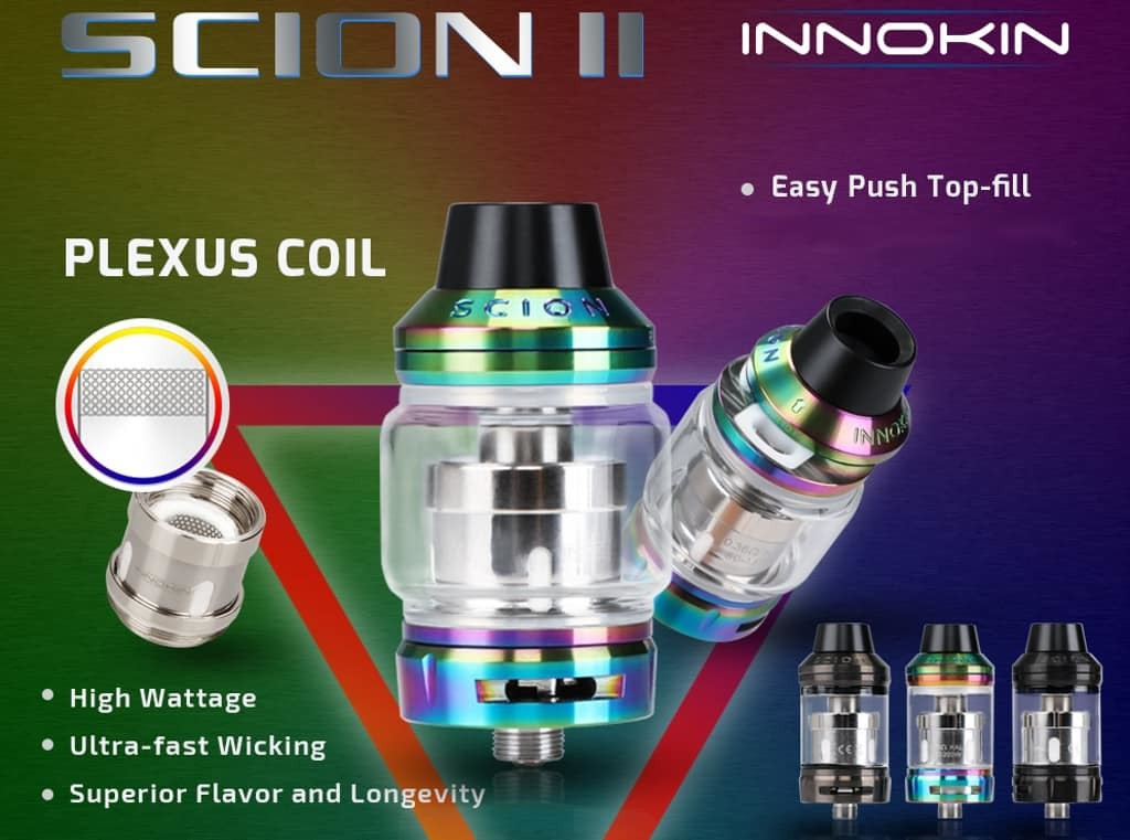 Scion 2 with Innokin Plexus coil compatibility
