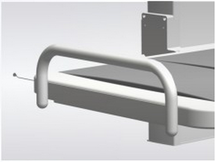 Ropox 40-25038 Bed guard, end