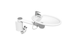 Ropox 40-41110 Swing Washbasin with short cover - fixed height