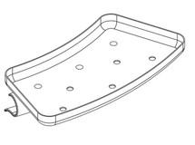 Ropox 40-41146 Tray for Swing Washbasin