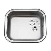Ropox A-400 sink - 100mm deep bowl - 30-45008