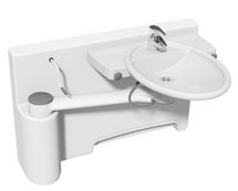 Ropox 40-40072 Swing washbasin with dock-in - height adjustable, LH model