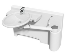 Ropox 40-40071 Swing washbasin with dock-in - height adjustable, RH model