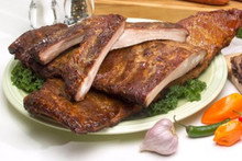 Hickory Smoked Pork Spare Ribs