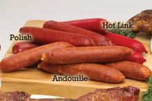 Hickory Smoked Hot Sausage Links