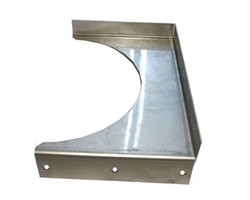 """Hired-Hand Bracket Pipe Support SS 8"""" MC"""