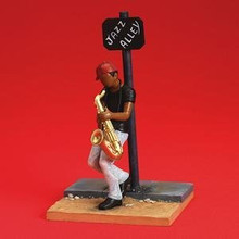 Jazz Alley  Figurine - Annie Lee