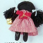 Jolly - Holly Dolly Cloth Ornament