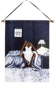 Blue Monday Wall Hanging - Annie Lee