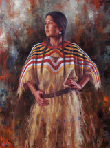 Shoshone Allure painting