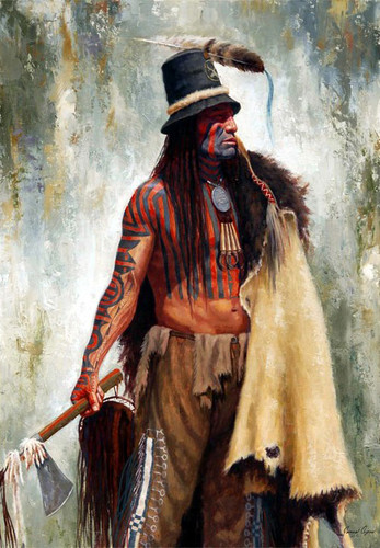 Addih-Hiddisch, Hidatsa Chief, James Ayers